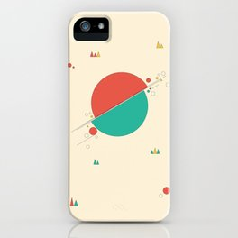 Circles and Angles iPhone Case