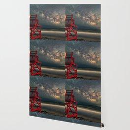 Milkyway at Good Harbor Beach 6-11-18 Wallpaper