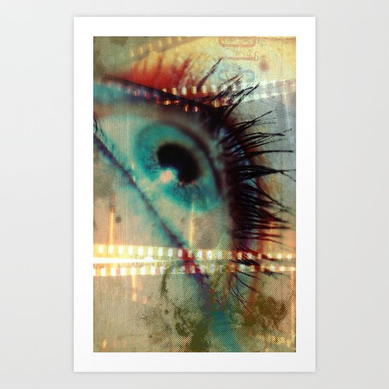 Movie! Art Print
