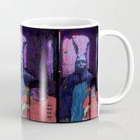 donnie darko Mugs featuring Donnie Darko by brett66