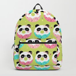 Donuts Panda Candy Shop Backpack