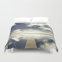 outdoor Duvet Covers featuring Vanity by HappyMelvin