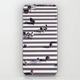 Pedestrians iPhone Skin