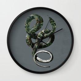 Jungle Snake Wall Clock