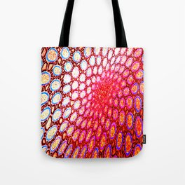 Electromagnetic Warp Tote Bag