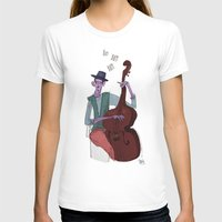 cello T-shirts featuring Smooth Cello by Erin Eng
