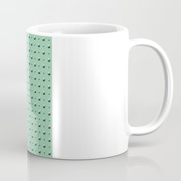 Studded Double Polka stud on Mediterranean Mint 1@50 Coffee Mug