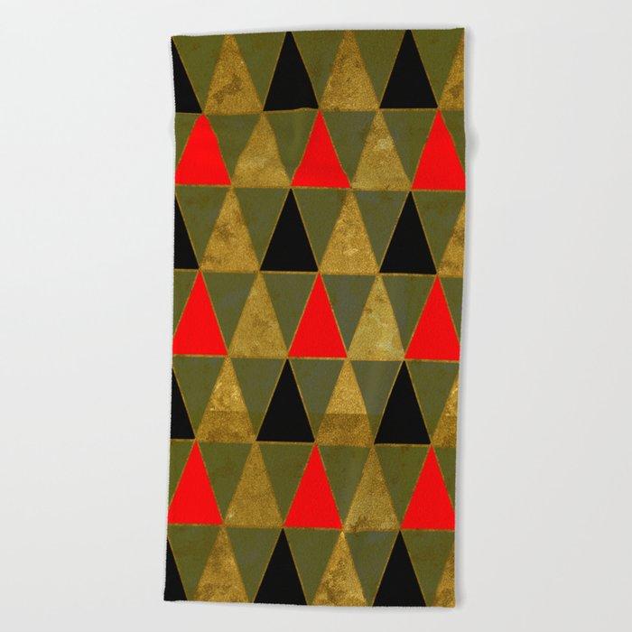 Abstract #481 Beach Towel