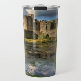 Caerphilly Castle Moat Travel Mug