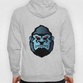 blue gorilla head Hoody
