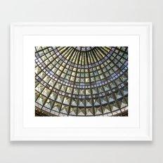 Union Station Skylight Framed Art Print