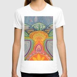 The Shy Guy Abstract Mandala Painting T-shirt