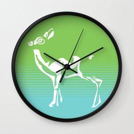Spring is in the air deer 2 Wall Clock