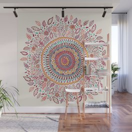 Sunflower Mandala Wall Mural