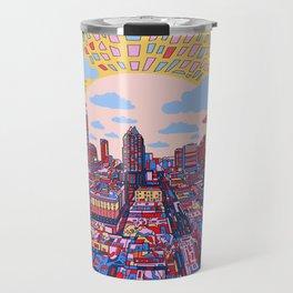 austin texas city skyline Travel Mug