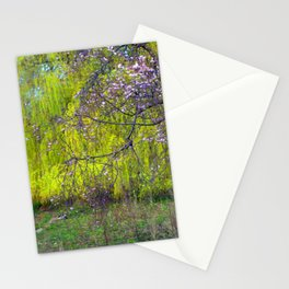 influence: monet Stationery Cards