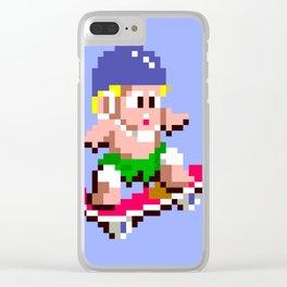 Wonder Boy Clear iPhone Case