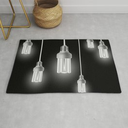 Energy saving bulbs with cords Rug