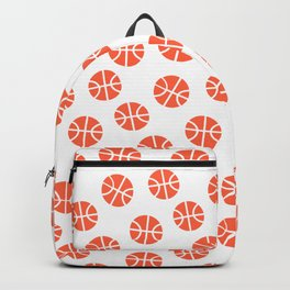 Basketball Pattern Backpack