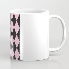 Harlequin pink & black Coffee Mug