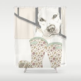 Pipo Shower Curtain