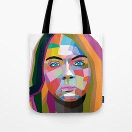 Cara Delevingne - wpap art Tote Bag