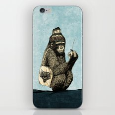 Music Gorilla iPhone & iPod Skin