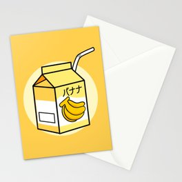 Japanese Banana Milk Banana Milk Lover Gift Stationery Cards