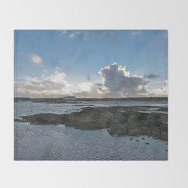 Connemara Coast #1 Throw Blanket