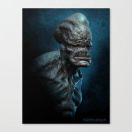 Trihead Monster Canvas Print