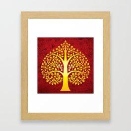 Bodhi Tree0101 Framed Art Print
