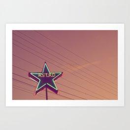 Astro 3 Art Print