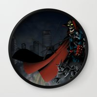 spawn Wall Clocks featuring Spawn by Fuacka