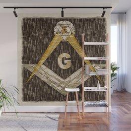Masonic Symbolism Wall Mural