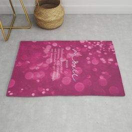 Moxie Definition - Pink Bokeh Rug