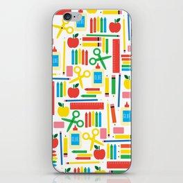 School Supply List iPhone Skin