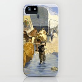 The Emigrants - Digital Remastered Edition iPhone Case