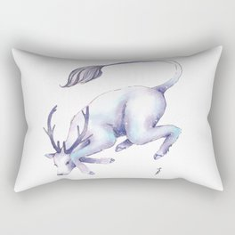 Eternal Deer Rectangular Pillow