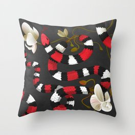 Ophidian 01 Throw Pillow