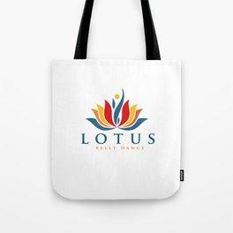 Lotus Warm Logo Tote Bag