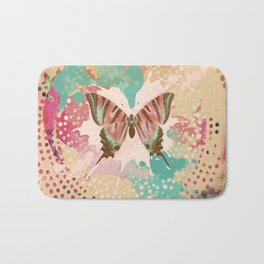 The Butterfly Experiment Bath Mat