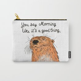 Morning sucks Carry-All Pouch