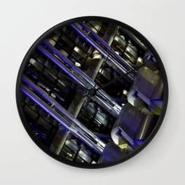 Lloyds of London Abstract Wall Clock