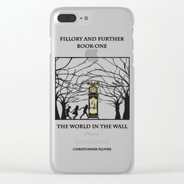 The World in the walls Clear iPhone Case