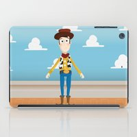 woody iPad Cases featuring Woody by Clau Calderon