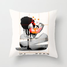 Bask In Throw Pillow