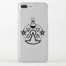 Witchy Business ~ Black Clear iPhone Case