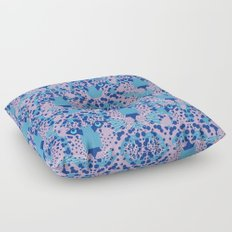 Psychedelic Camouflage Floor Pillow