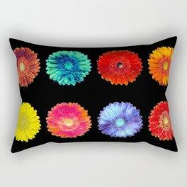 Variations of a gerbera Rectangular Pillow