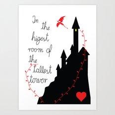 Highest tower Art Print
